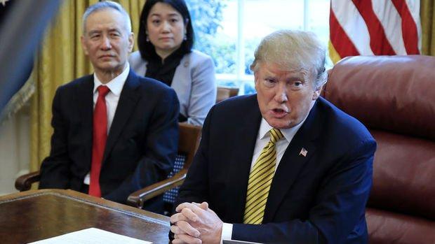 Trump ticaret anlaşmasına varmaya en az dört hafta olduğunu söyledi