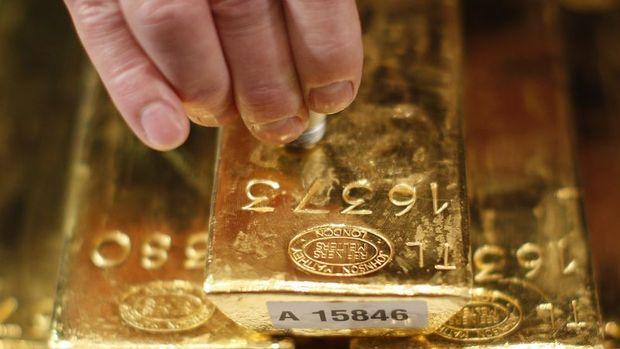 Altın Çin'in rezerv artırmaya devam etmesiyle yükseldi