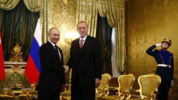 Erdoğan ve Putin'den açıklamalar