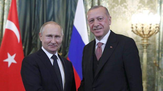 Putin: Türkiye'yle ilerlemiş iş birliği çerçevesinde ilişkileri geliştireceğiz