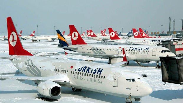THY'nin yolcu sayısı Mart'ta yıllık yüzde 1.1 azaldı