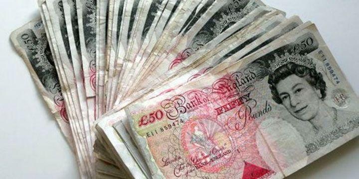 Sterlin/dolar kaldıraçlı fon alımlarıyla yükseldi