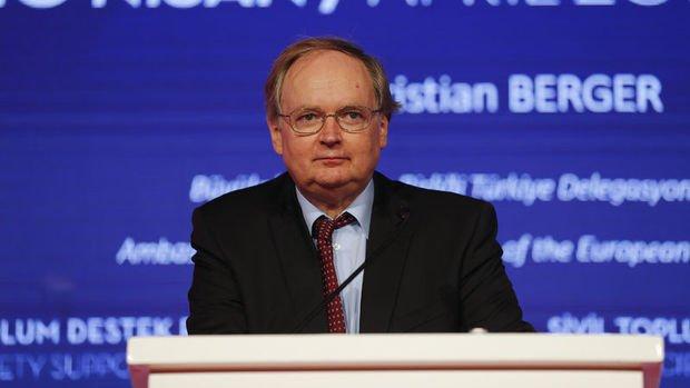 AB/Berger: AB'nin Suriyeliler için yardımları sürecek