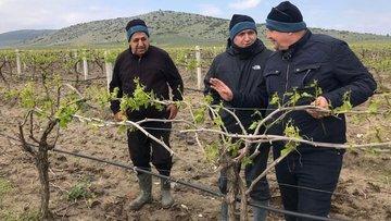 Mersin ve Manisa'da dolu tarım arazilerine zarar verdi