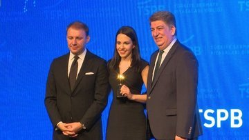 TSPB'den Bloomberg HT'ye 3 dalda ödül
