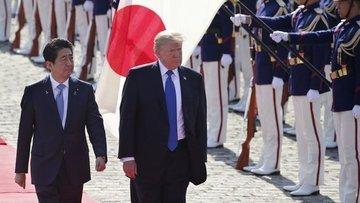 Trump Japonya'da yeni imparatorun ilk misafiri olacak