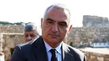Kültür Bakanı Ersoy: Turizmi 12 aya yaymak gibi bir hedef...