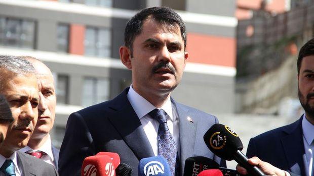 Bakan Kurum: Kağıthane'de kentsel dönüşümü başlatacağız