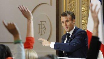 Fransa Cumhurbaşkanı Macron reform paketini açıkladı