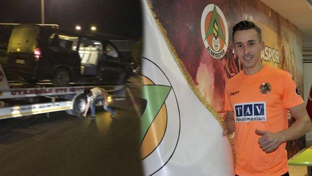 Alanyasporlu futbolcular kaza geçirdi: 6 yaralı, 1 ölü