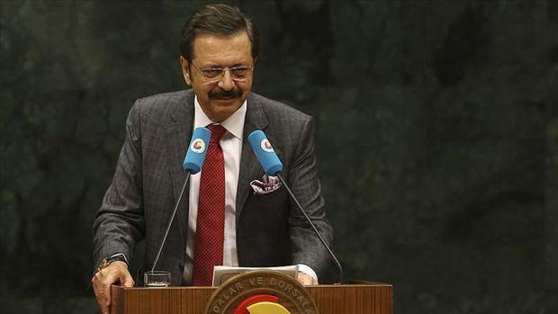 TOBB/ Hisarcıklıoğlu: Türkiye'nin ilk gündem maddesi ekonomi olmalı