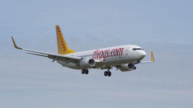 Pegasus yolcu sayısı Nisan'da yıllık % 5.2 azaldı