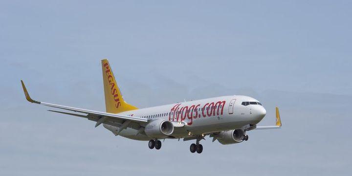 Pegasus yolcu sayısı Nisan