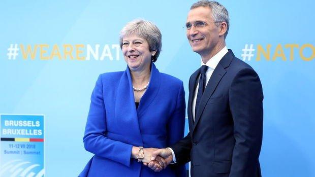 May ve Stoltenberg, Rusya ile Çin'i görüştü