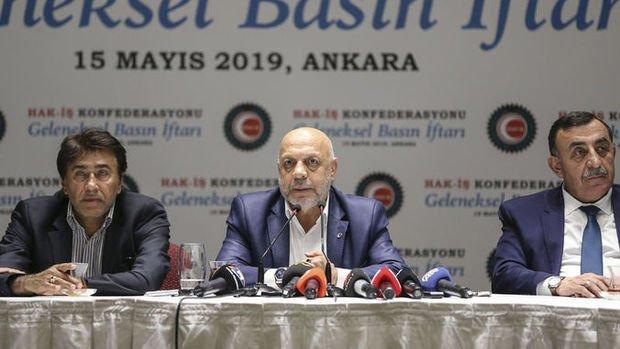 HAK-İŞ/Arslan: EYT'liler ile ilgili bir çalışma yapılacaksa mutlu oluruz