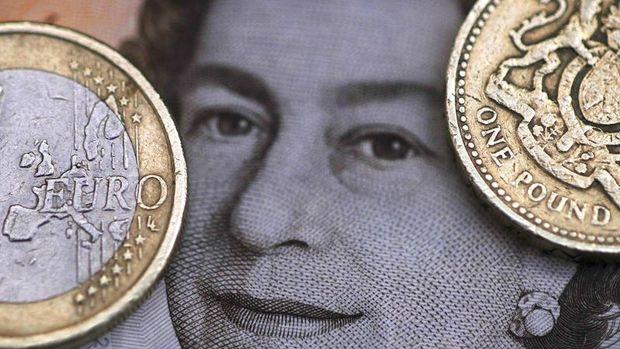 Sterlin euro karşısında 19 yılın en uzun düşüş serisine yöneldi