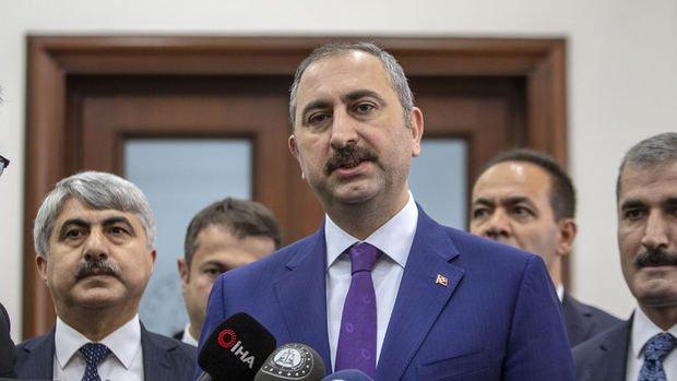 Adalet Bakanı Gül: Öcalan'ın görüşme yasağı kaldırıldı