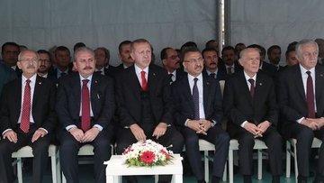 Erdoğan: 19 Mayıs ruhu, 23 Nisan ruhu, 29 Ekim ruhu ülkem...