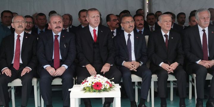 Erdoğan: 19 Mayıs ruhu, 23 Nisan ruhu, 29 Ekim ruhu ülkemizin her köşesinde