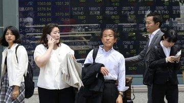 """Asya hisse senetleri """"teknoloji tansiyonuyla"""" karışık sey..."""