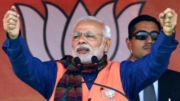 Hindistan'da Başbakan Modi'nin partisi seçimlerin galibi ...