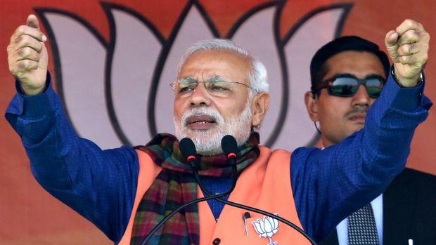 Hindistan'da Başbakan Modi'nin partisi seçimlerin galibi oldu