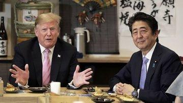 Trump: Japonya ile Ağustos'ta ticaret anlaşması imzalayab...