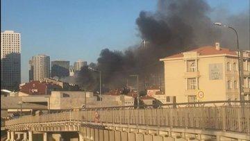 Fikirtepe'de bir binada yangın: Ölü ve yaralılar var