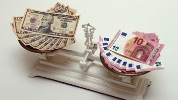 """Euro """"AP seçimleri"""" sonrasında dolar karşısında gücünü ko..."""