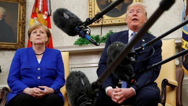 Trump Almanya'ya yaptırım tehdidinde bulundu