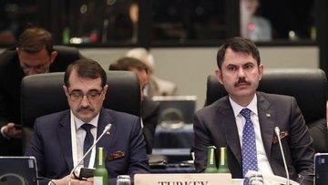 """Bakan Kurum'dan G20'de """"Türkiye'de yatırım"""" çağrısı"""