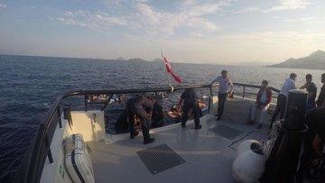 Bodrum'da göçmenleri taşıyan tekne battı: 8 kişi hayatnı ...
