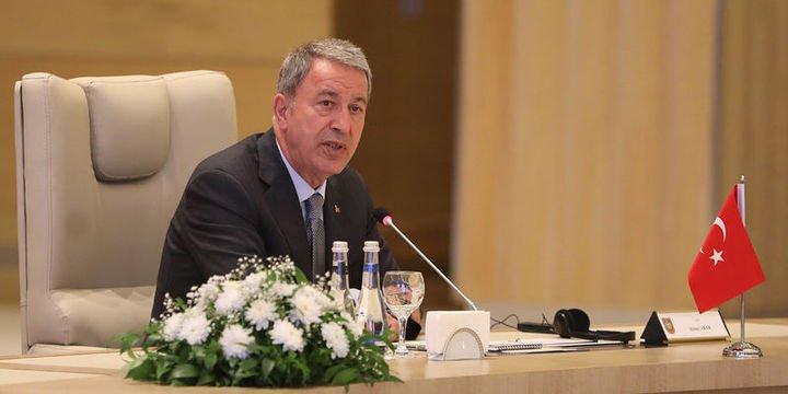 Milli Savunma Bakanı Akar, Rusya Savunma Bakanı ile görüştü