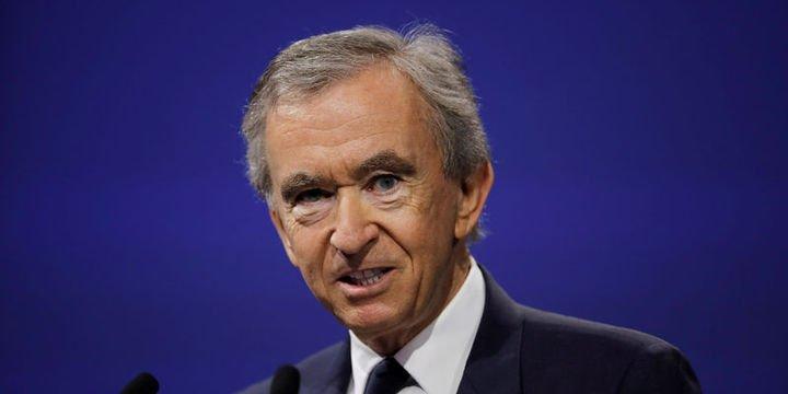 """Bernard Arnault """"100 milyar dolar"""" kulübüne girdi"""
