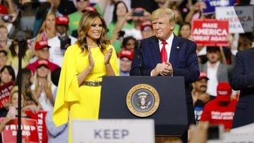 Trump ikinci dönemi için seçim kampanyasını başlattı