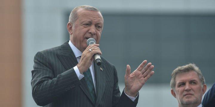 Erdoğan: Seçilse bile vitrin süsü olacak