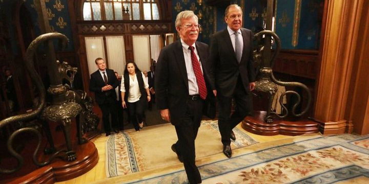 ABD Ulusal Güvenlik Danışmanı/ Bolton: Trump İran ile müzakereye açık