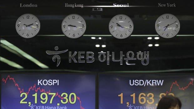 Asya paraları İran gerilimiyle yükselişini tersine çevirdi