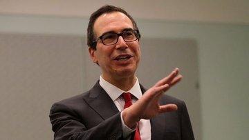 "Mnuchin: ABD - Çin anlaşmasında yolun % 90'ını tamamladık"""
