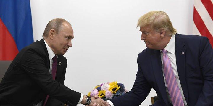 Putin ve Trump G20