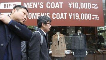 Japonya'da enflasyon iki yılın en düşüğüne geriledi