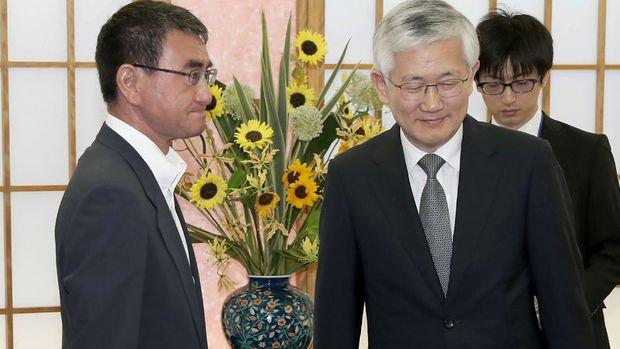 Japonya Güney Kore'ye yönelik yeni tedbirler açıkladı