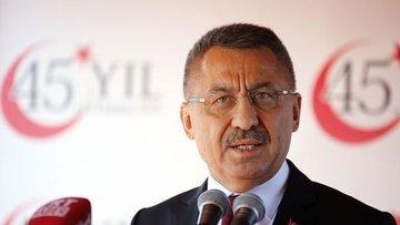 Cumhurbaşkanı Yardımcısı'ndan Doğu Akdeniz açıklaması