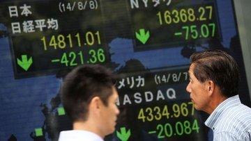 Asya borsaları haftanın ilk işlem gününde karışık seyir i...