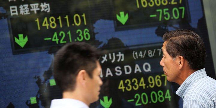 Asya borsaları haftanın ilk işlem gününde karışık seyir izledi
