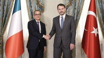 Bakan Albayrak, İtalya Ekonomi ve Maliye Bakanı Tria ile ...