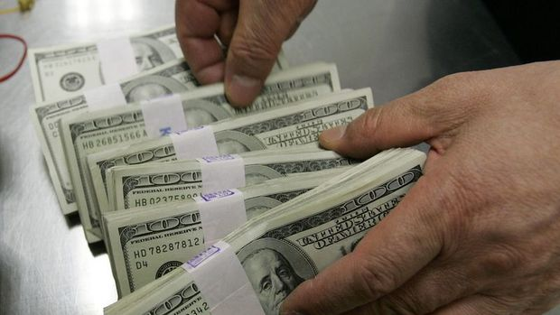 Finansal kesim dışı firmaların net döviz açığı Mayıs'ta azaldı