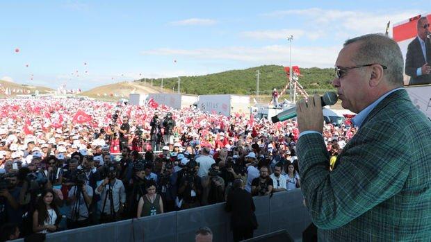 Erdoğan: Merkez Bankası faizleri indirdi, daha da inecek