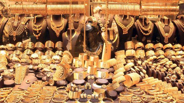 Gram altın 260,8 lira seviyelerinde