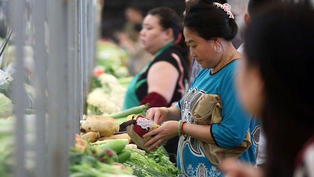 Çin'de tüketici enflasyonu beklentilerin hafif üzerinde gerçekleşti